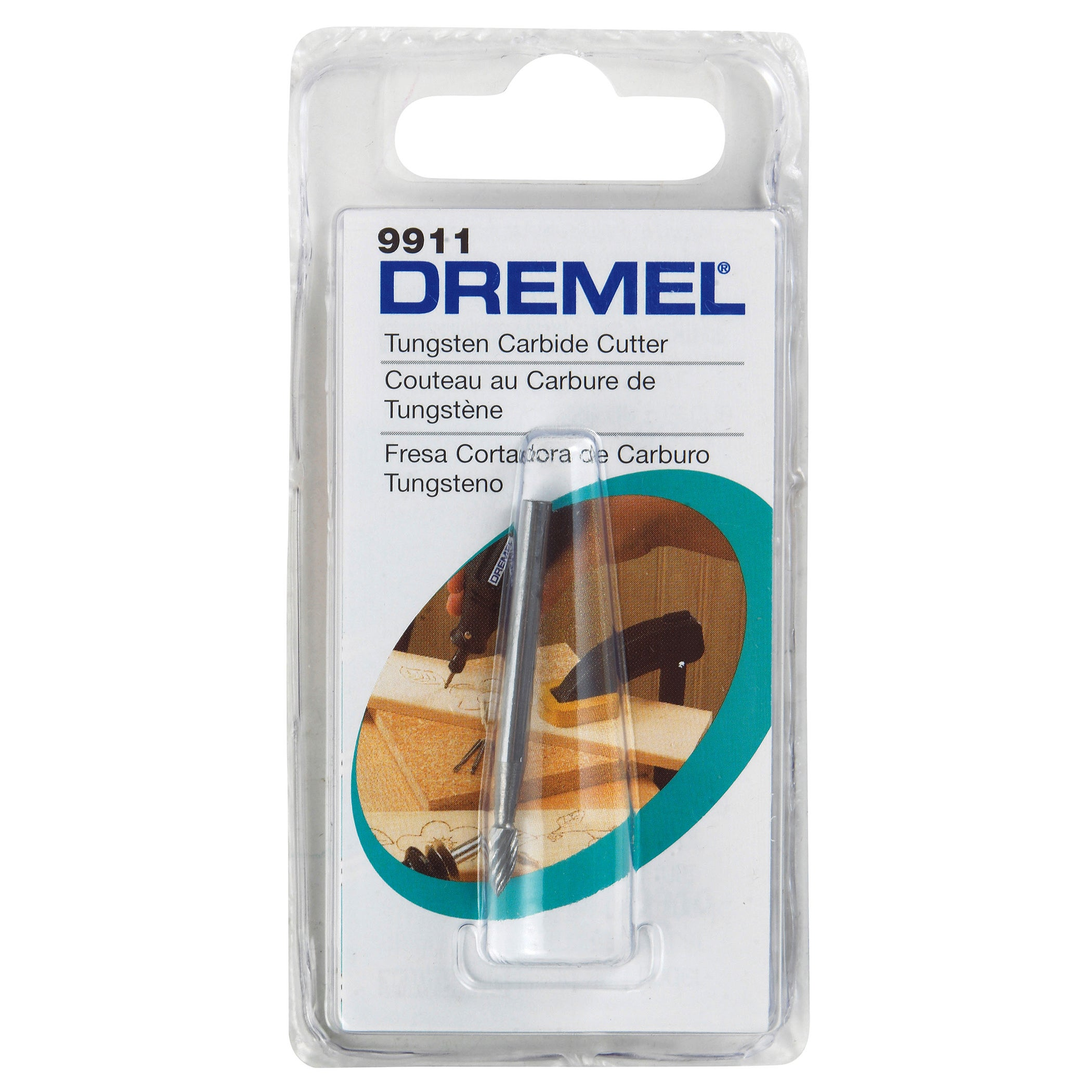 Dremel 9911 0.125-inch Tungsten Carbide Cutter (Power tool accessories)