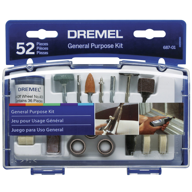 Dremel 687-01 52-piece Set General Purpose Bits (Power to...