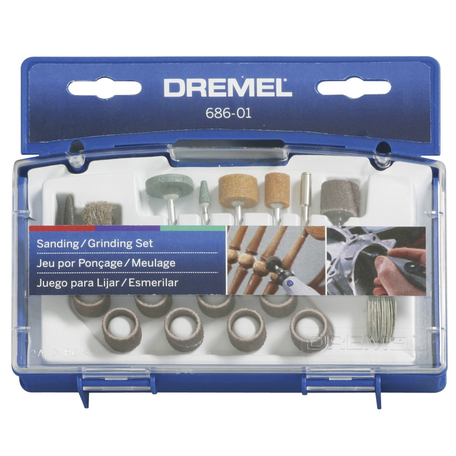 Dremel 686-01 31-piece Sanding and Grinding Accessory Kit...
