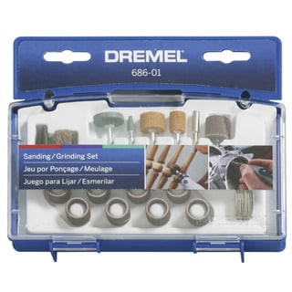 Dremel 686-01 31-piece Sanding and Grinding Accessory Kit