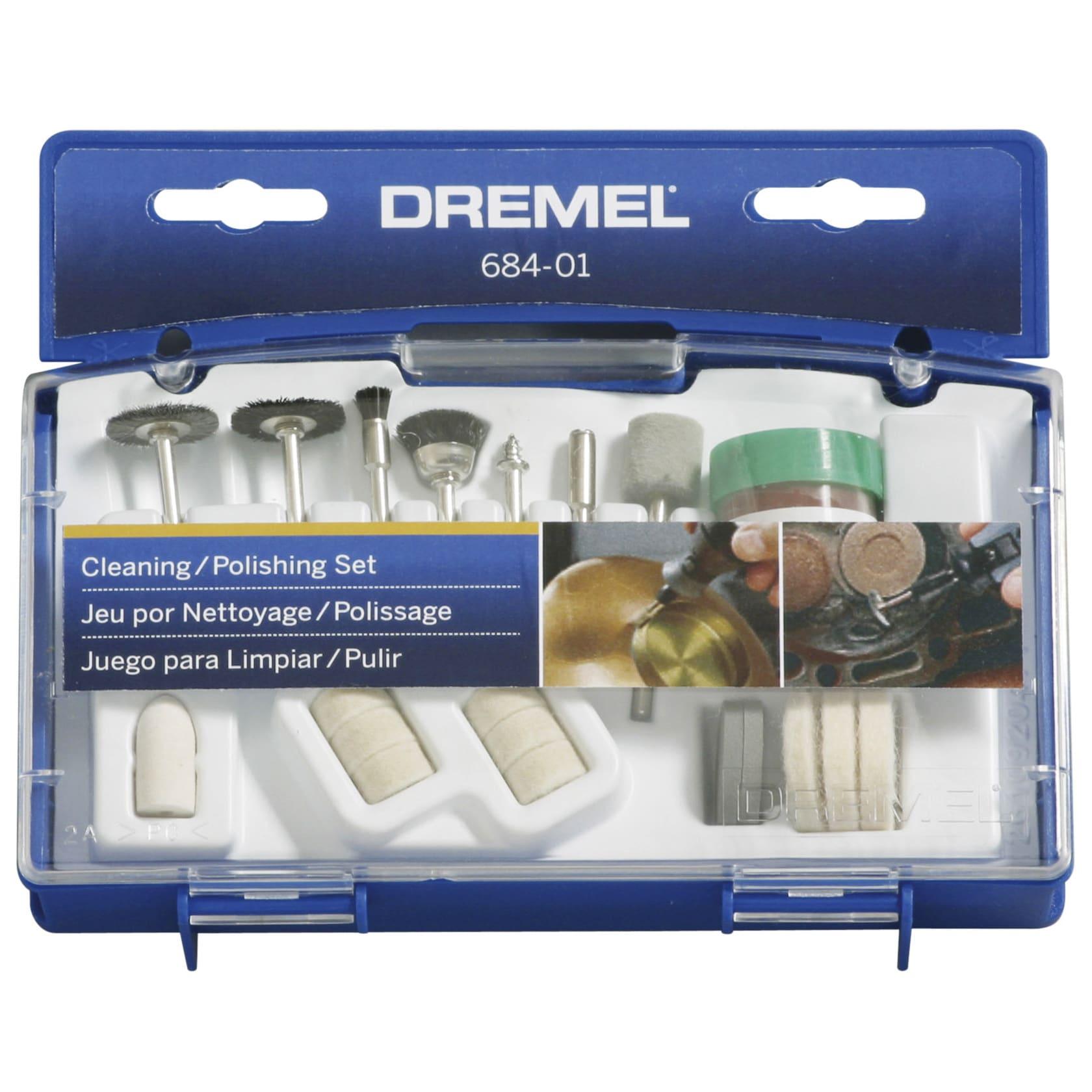 Dremel 684-01 20-piece Set Cleaning and Polishing Bits (P...