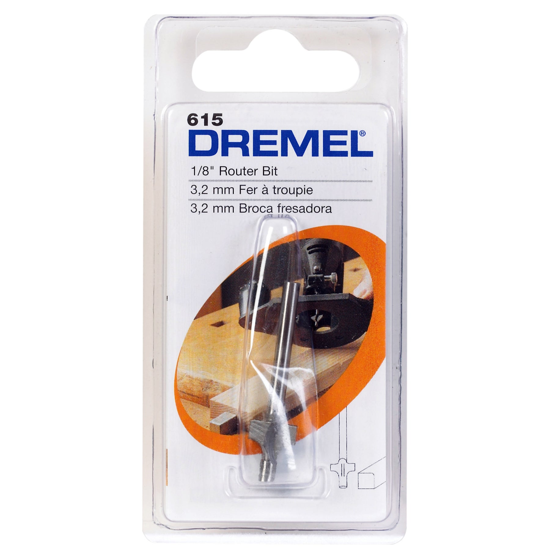 Dremel 615 Corner Rounding Router Bit (Power tool accesso...