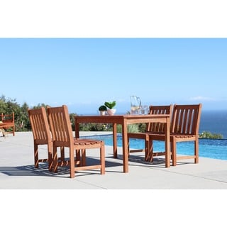 Havenside Home Surfside 5-piece Patio Dining Set with Table and Chairs