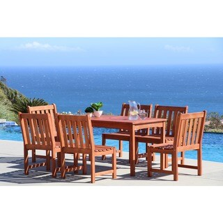 Havenside Home Surfside 7-piece Patio Dining Set with Table and Chairs
