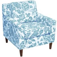 Shop Skyline Furniture Armless Chair In Canary Robin On
