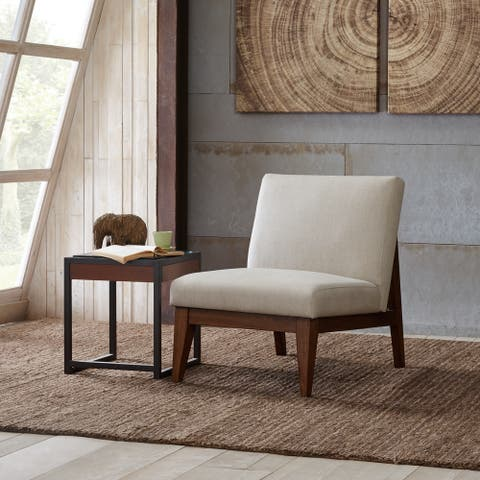 Madison Park Adria Cream Upholtered Chair