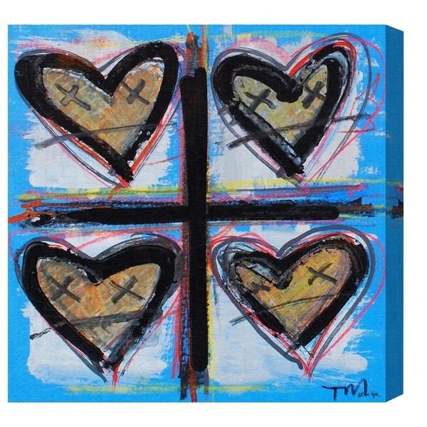 'HeartCRUZ' Canvas Art by Tiago Magro