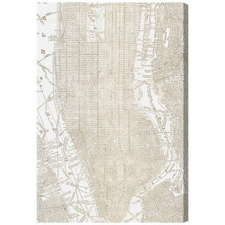 Oliver Gal 'Phylum Design The Golden City'  Canvas Art