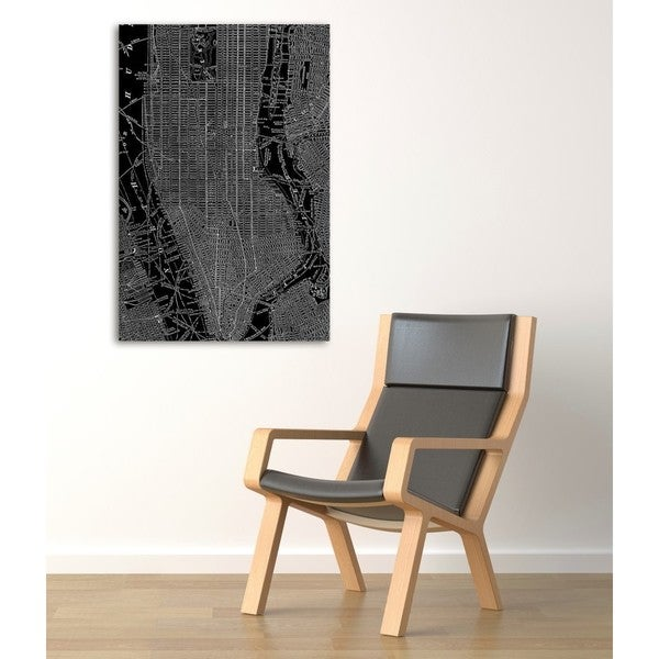 Oliver Gal 'Phylum Design The City That Never Sleeps ' Canvas Art