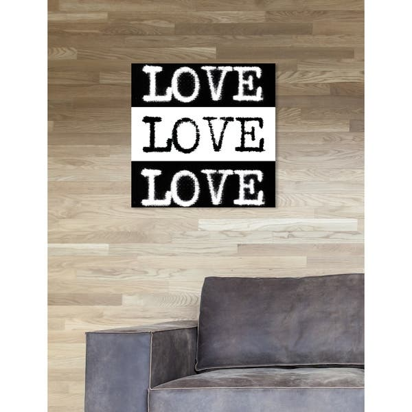 Shop Oliver Gal Phylum Design Censored Love Typography And