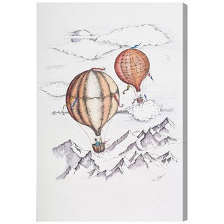 Oliver Gal 'Balloon Journey'  Canvas Art by Paul Kaminer