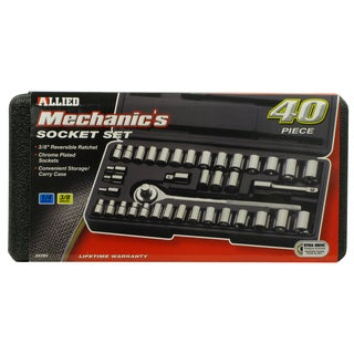 Allied International 86084 Mechanics Socket Set 40-piece Set