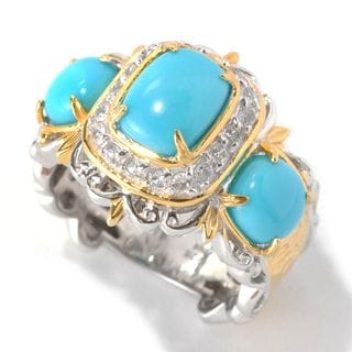 Michael Valitutti Sleeping Beauty Turquoise Ring