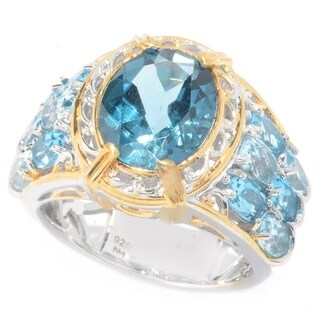 Michael Valitutti Multi Topaz Ring