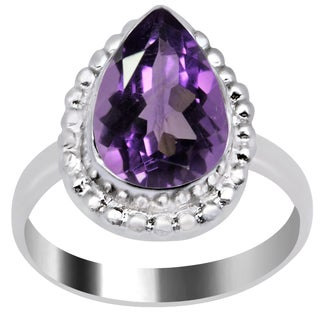 Orchid Jewelry's Nice Brass Ring with 2.70 CTTW Genuine Amethyst