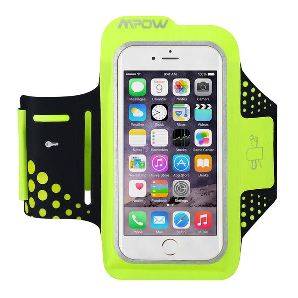 Mpow Sweat Proof Running u0026 Exercise Armband with Key Holder ...