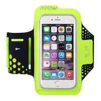 Mpow Sweat Proof Running & Exercise Armband with Key Holder & Reflective Band for iPhone 6, 6S, Samsung Galaxy S6