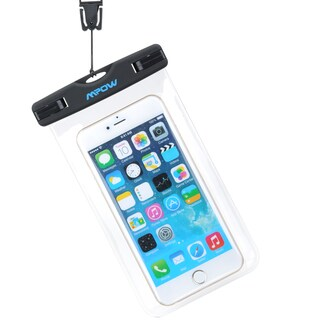 Mpow Dirtproof Waterproof Case Dry Bag Iphone and Phones Under 6 Inches