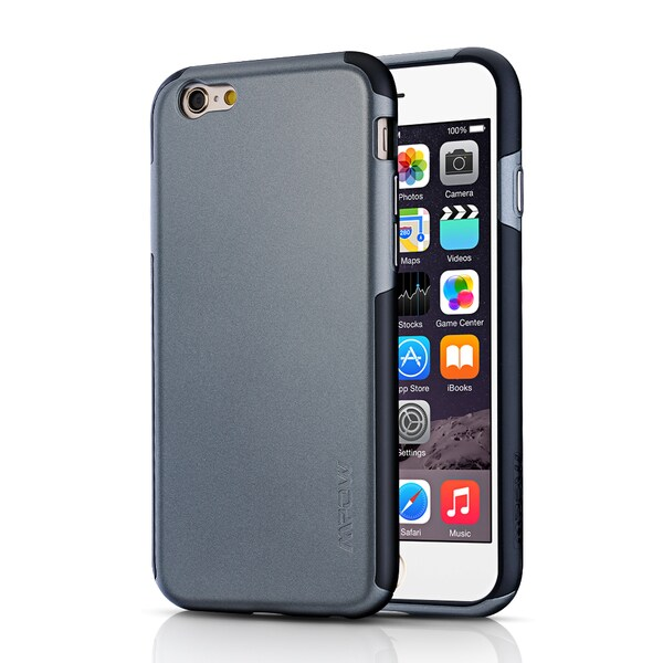 Mpow Certified Drop Protection Anti-scratch Case with Double Structure for Apple iPhone 6/ 6s