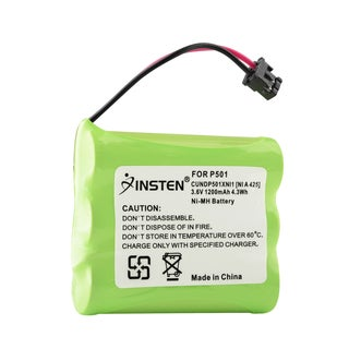 Insten Home Phone 3.6V Ni-MH Battery for Panasonic P-P501 Cordless Phone
