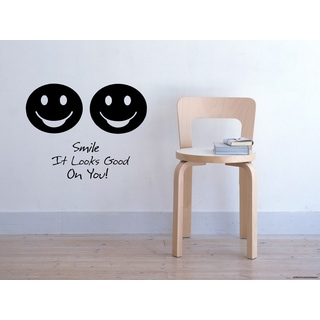 Funny faces That Smile Looks Good On You! Wall Art Sticker Decal