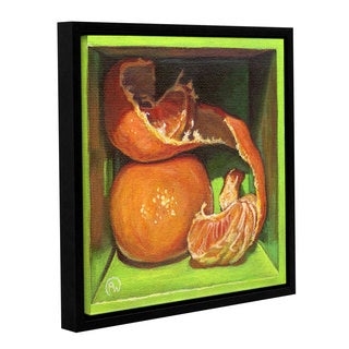ArtWall Paige Wallis 'Appealing' Gallery-wrapped Floater-framed Canvas