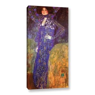 ArtWall Gustav Klimt's 'Emilie Floege' Gallery Wrapped Canvas