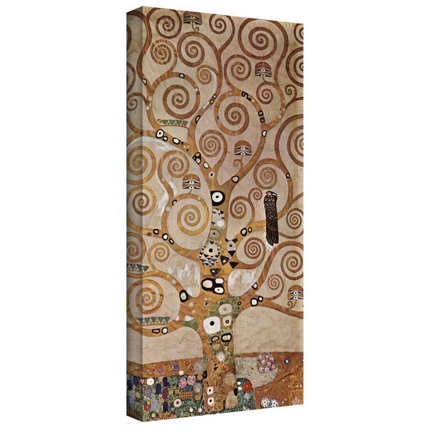 ArtWall Gustav Klimt's 'Water Snakes' Gallery Wrapped Canvas - Multi