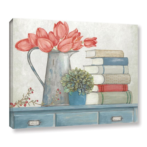 ArtWall Jo Moulton's Signs Of Spring, Gallery Wrapped Canvas