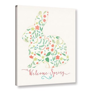 ArtWall Jo Moulton's 'Welcome Spring' Gallery Wrapped Canvas