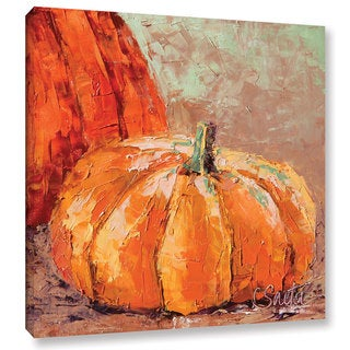 Link to ArtWall Leslie Saeta's 'Fall Harvest' Gallery Wrapped Canvas Similar Items in Decorative Accessories