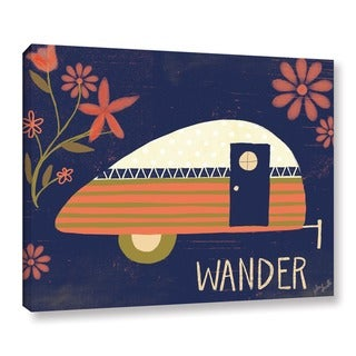 ArtWall Katie Doucette's Wander, Gallery Wrapped Canvas