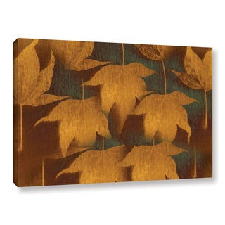 ArtWall Don Schwartz's 'Collection Of Leaves' Gallery Wrapped Canvas