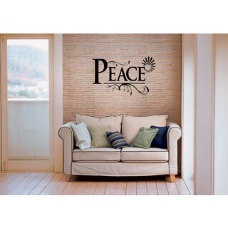 Peace Wall Art Sticker Decal