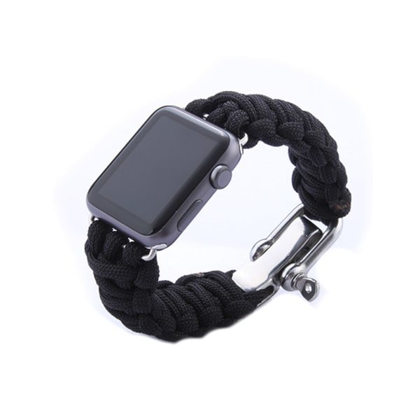iPM Weave Watch Band with Stainless Steel Clasp for Apple Watch