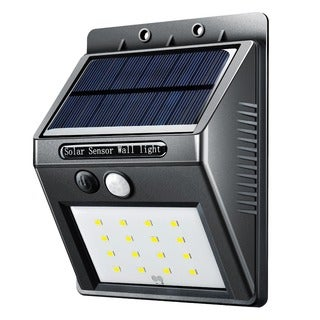16 LED Solar Panel Powered Motion Sensor Lamp Outdoor Light Garden Security Light 320lm