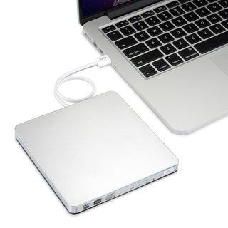 CD/ DVD-RW Burner Writer External Hard Drive for Apple Macbook, Macbook Pro, Macbook Air or Other Laptop/ Desktops