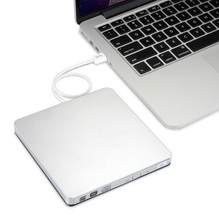 CD/ DVD-RW Burner Writer External Hard Drive for Apple Macbook, Macbook Pro, Macbook Air or Other Laptop/ Desktops