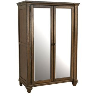 Simply Solid Logan Solid Wood Armoire
