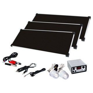 Energin 45 Watt Solar Panel Kit (3 panels)