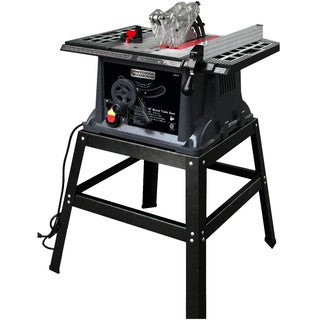 Professional Woodworker 10-inch 13 amp Industrial Bench Table Saw