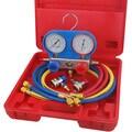 Speedway R134A Refrigerant A/C Manifold Gauge Set