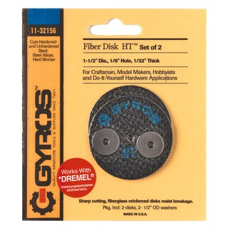 "Gyros Tools 11-32156 1-1/2"" Gyros High Tensile Fiber Disc"
