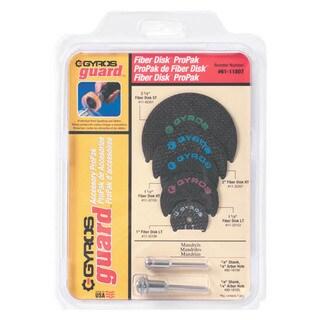 Gyros Tools 61-11807 Gyros Fiber Disk Pro Pack