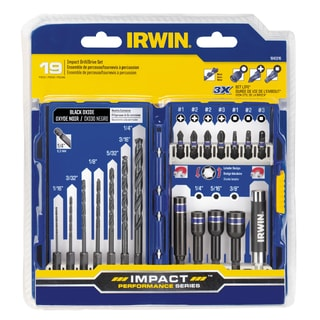 Irwin Industrial Tools 1840318 33 Pc Impact Drill//Drive Set