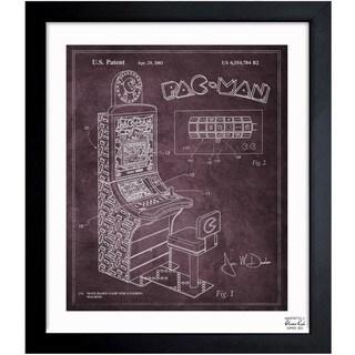 Oliver Gal 'Maze Based Game 2003' Framed Blueprint Art