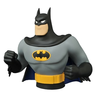 Diamond Select Toys Batman Animated Series Batman Bust Bank