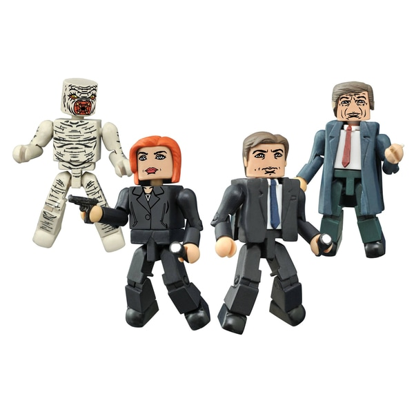 Diamond Select Toys X-Files Classic Minimates Box Set