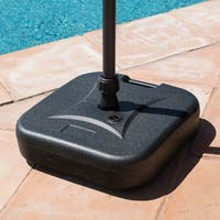 Corvus Napa Patio Umbrella Base with Sand Filling Capabilities