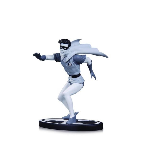 DC Comics Batman Black and White Statue Robin by Infantino